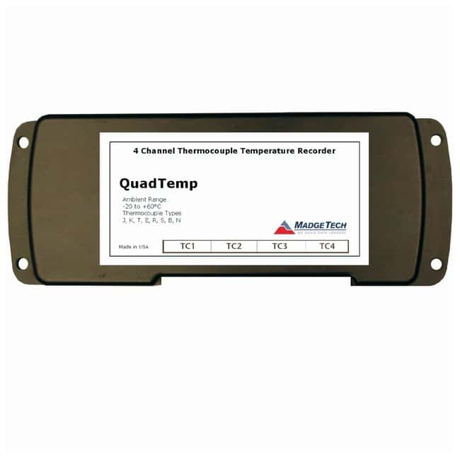 Fisherbrand QuadTemp and OctTemp Multi-Channel Dataloggers QuadTemp 4-Channel