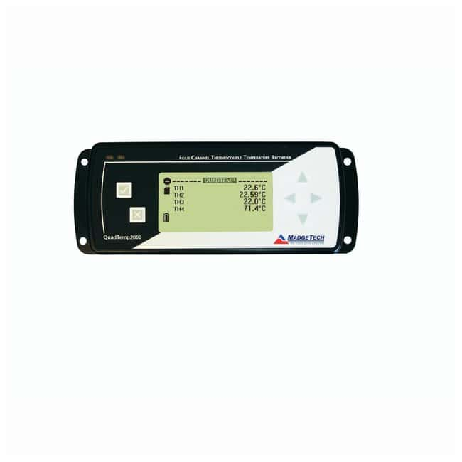 MadgeTech QuadTemp2000 4-Channel Thermocouple Temperature Datalogger with