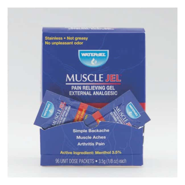 Moore Medical Water-Jet Muscle Jel Pain Relieving Gel Unit dose; 0.125