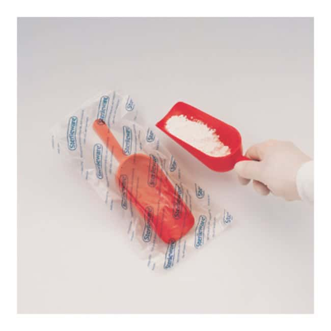 Bel-Art™ SP Scienceware™ Sterileware™ Red Sterile Sampling Scoops Capacity: 2 oz. (60mL); Case of 100 Bel-Art™ SP Scienceware™ Sterileware™ Red Sterile Sampling Scoops