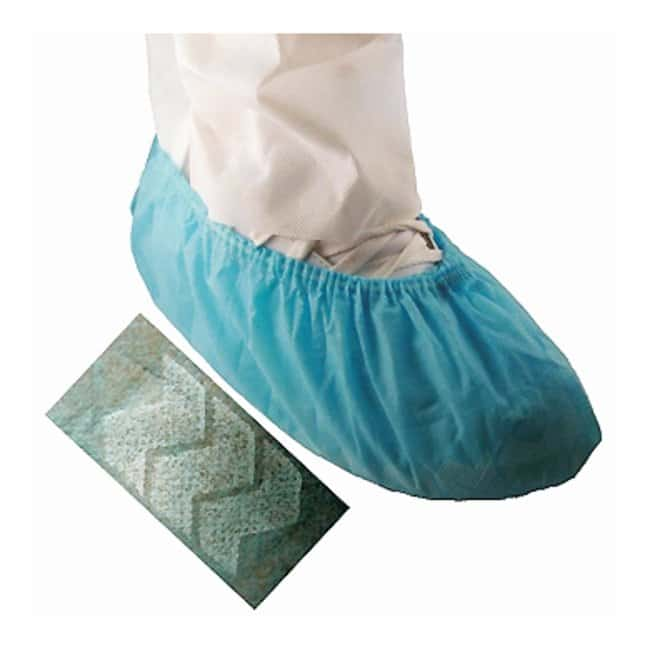TiansEpic Cleanroom Shoe Covers Blue; X-Large:Personal Protective Equipment