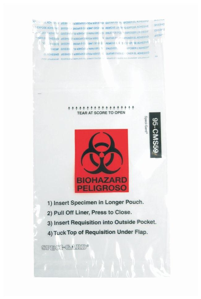 Minigrip™SPECI-GARD™ Specimen Biohazard Transport Bags
