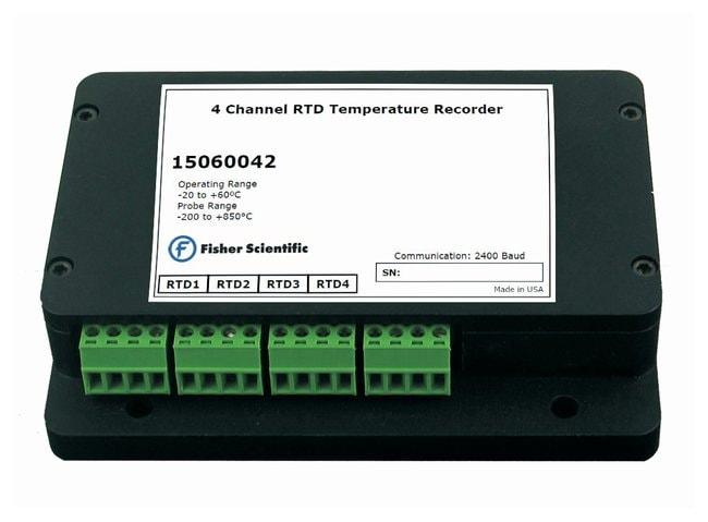 Fisherbrand QuadRTD 4-Channel RTD Datalogger:Recorders and Dataloggers:Dataloggers