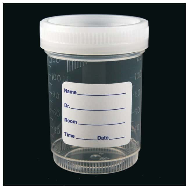Parter Medical Products Nonsterile Specimen Containers:First Responder