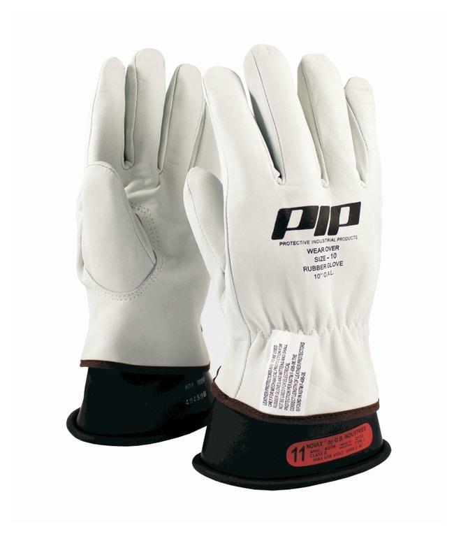 PIP Top Grain Goatskin Leather Glove Protectors Class 00 and 0; Wrist cuffs;