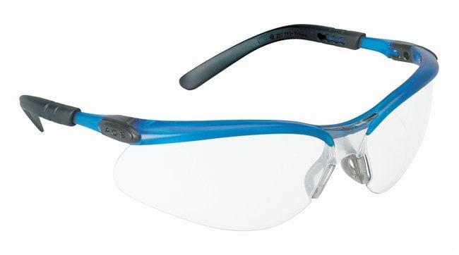 3M BX Eyewear  Ocean blue frame; Clear antifog lens:Gloves, Glasses and
