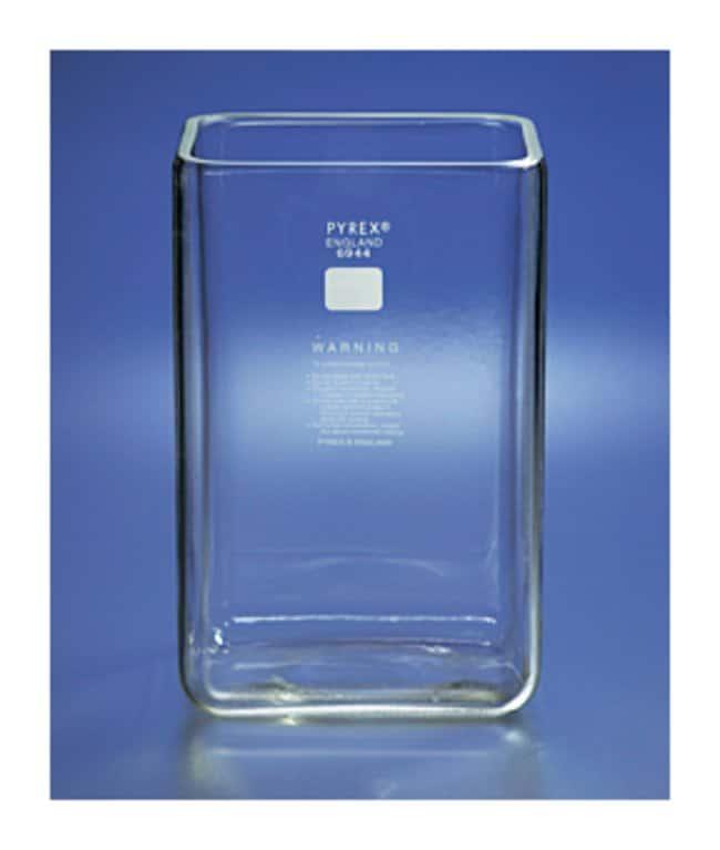 PYREX™Rectangular Chromatography Tank With Ground Edges