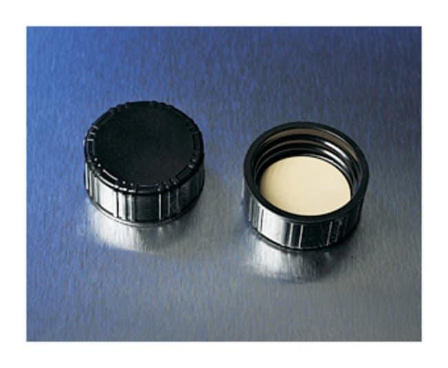 Corning™Black Phenolic Threaded Screw Caps