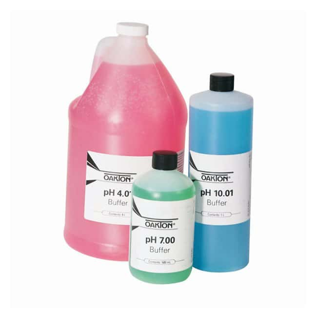 Oakton™ Oakton™ pH Calibration Buffer Bottles: Electrodes and Accessories pH and Electrochemistry