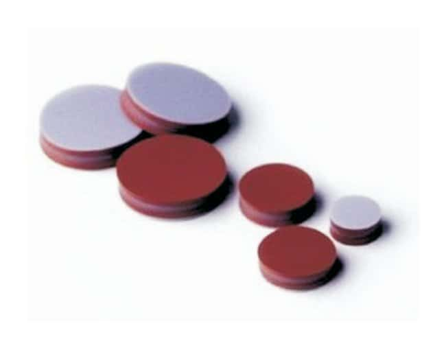 SGE™GC Septa: TCS TCS material; Made of predrilled TCS septa; Dia.: 0.35 in. (9mm); 50/Pk. SGE™GC Septa: TCS