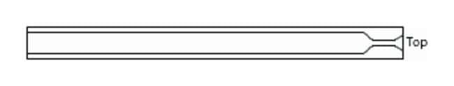 Trajan™GC Inlet Liners Split/Splitless; With single taper; I.D.: 5mm; O.D.: 3.4mm; Length: 54mm Trajan™GC Inlet Liners