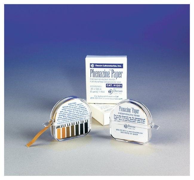 Decon Phenazine pH Test Paper   Type: Phenazine; Roll: 0.25 x 180 in.
