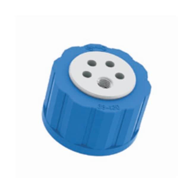 Kinesis Omnifit Bottle Waste Cap Thread Thread: 38mm-430; Four Luer port:Centrifuges