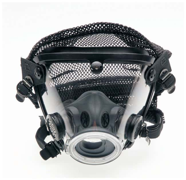 Scott Safety AV-2000 Facepiece AV-2000 with Polyester Head Harness, Standard