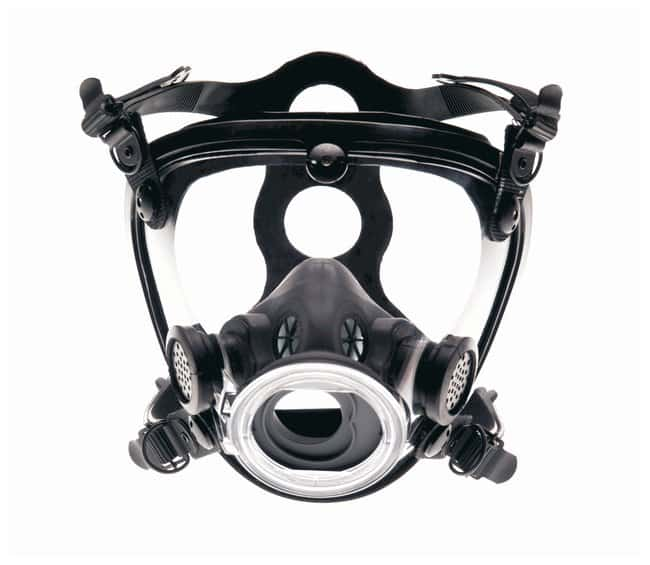 Scott Safety AV-2000 Facepiece AV-2000 with Polyester Head Harness, Comfort