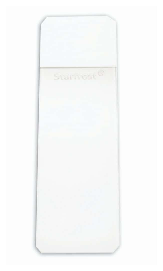 Mercedes Medical StarFrost Slides 90deg.; Color: White; Clipped corner:Microscopes,