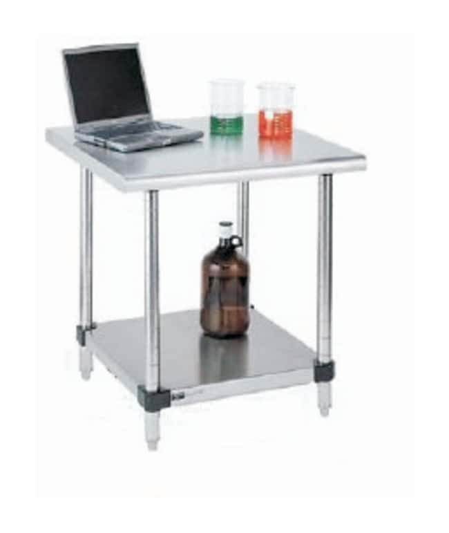 metro stainless lab worktable