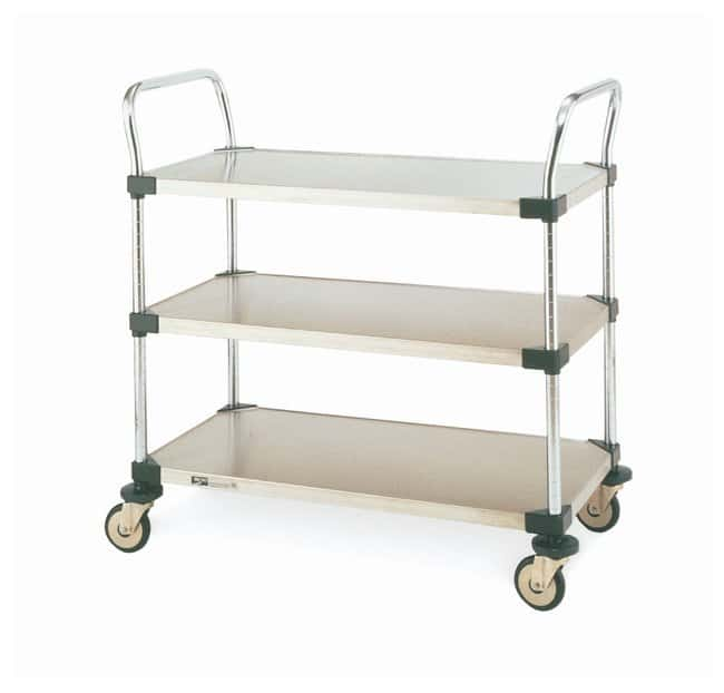Metro™MW Series Utility Carts with Solid Shelves: Carts Furniture, Storage, Casework, Carts and Hoods