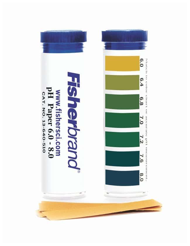 FisherbrandpH Paper Strips:pH and Electrochemistry:pH Paper and other Test