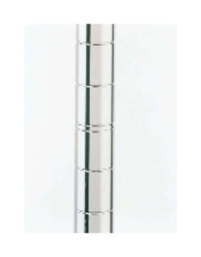 Metro™Montants Super Erecta™ SiteSelect™ Mobile; acier inoxydable; Hauteur: 14,5po (37cm) Metro™Montants Super Erecta™ SiteSelect™