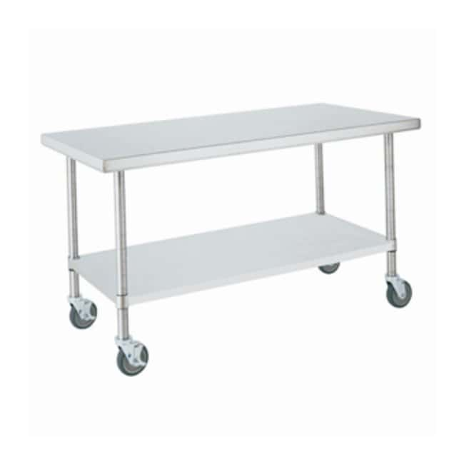 Metro™ HD Super Stainless Lab Worktable, Mobile