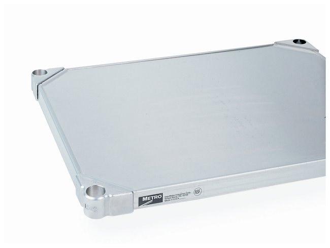 Metro™Super Erecta™ Solid Shelf, Stainless Steel, Autoclavable and Cart-Washable: Planken Onderhoud en veiligheid van het gebouw