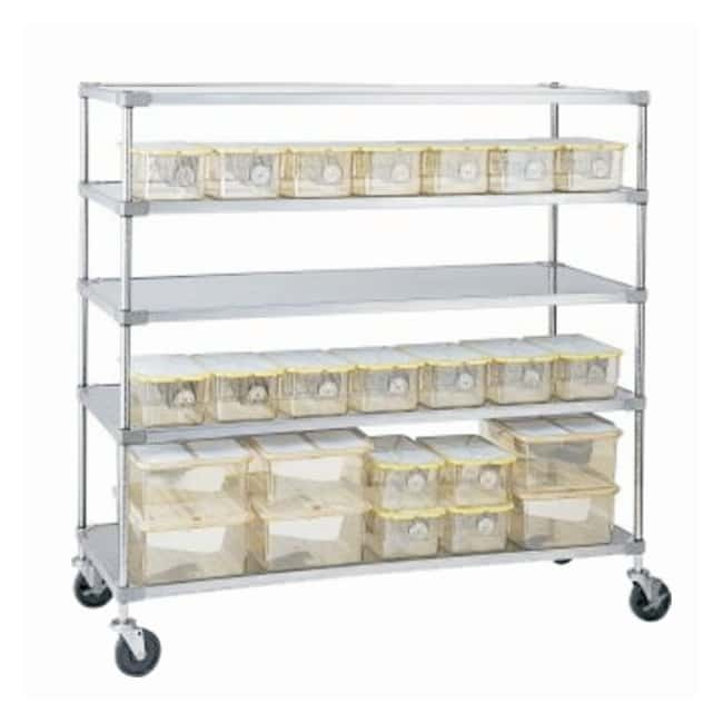 Metro Cage Rack Lab Cart, Autoclavable :Furniture, Storage, Casework, Carts
