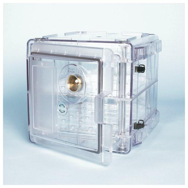 Bel-Art™SP Scienceware™ Secador™ Standard Desiccator Cabinets: Vertical Models Model 2.0 vertical; Two shelves; Clear Bel-Art™SP Scienceware™ Secador™ Standard Desiccator Cabinets: Vertical Models