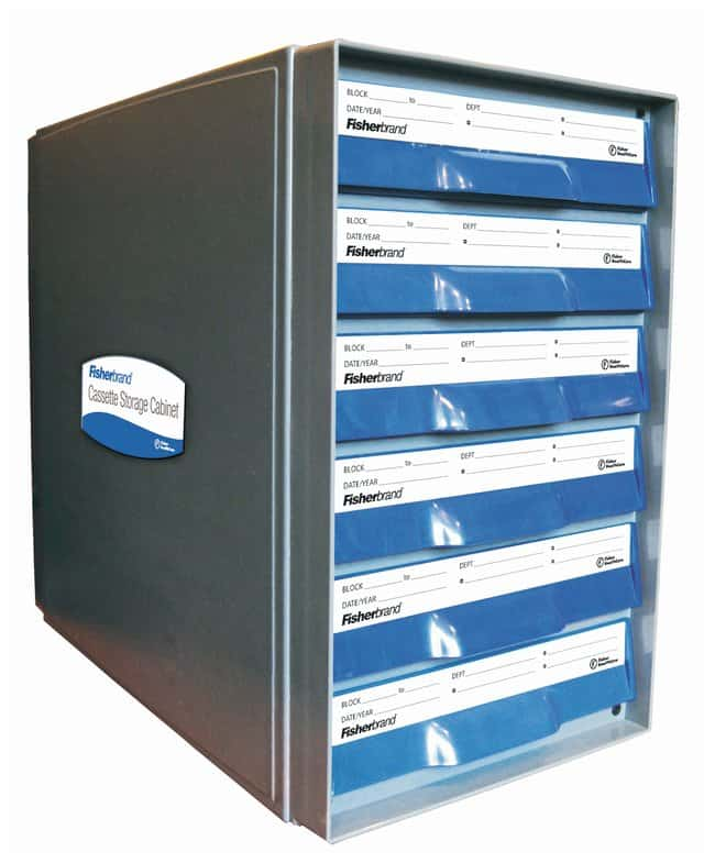 Fisherbrand Cassette Storage Cabinet Holds up to 1500 Tissue Cassettes:Diagnostic