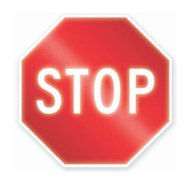 Accuform Signs Traffic Safety Signs: Stop Size: 36 x 36 in. (914 x 914mm):Gloves,