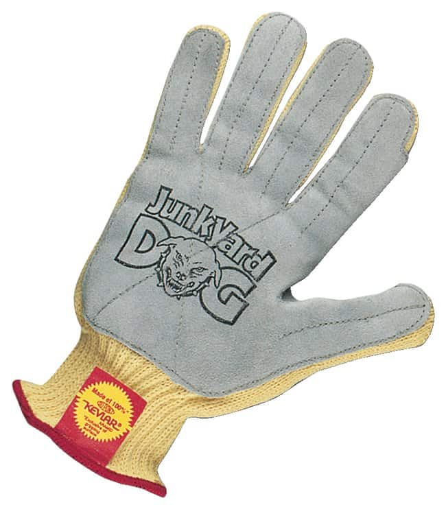 Honeywell™Junkyard Dog Seamless Knit with Leather Palm Gloves