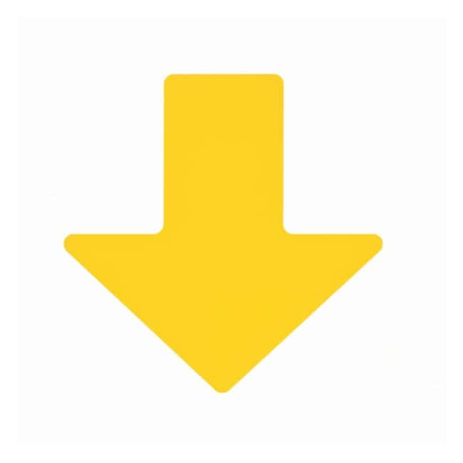 Brady ToughStripe Floor Arrows Yellow; 2 x 5 in. (50 x 127mm):Gloves, Glasses