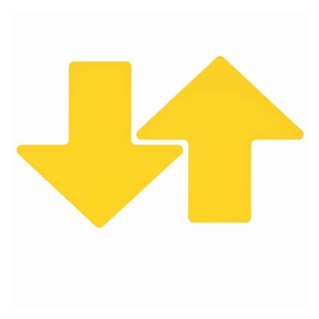 Brady ToughStripe Floor Arrows Yellow; 3 x 8 in. (76 x 203mm):Gloves, Glasses