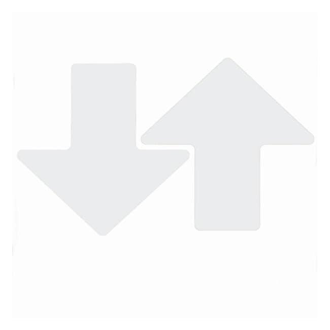Brady ToughStripe Floor Arrows White; 3 x 8 in. (76 x 203mm):Gloves, Glasses