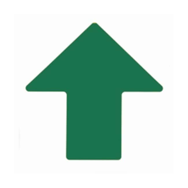 Brady ToughStripe Floor Arrows Green; 4 x 10 in. (101 x 254mm):Gloves,