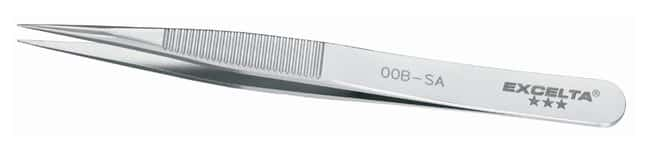 Excelta Precision Tweezers With Straight Strong Medium Tips:Spatulas, Forceps