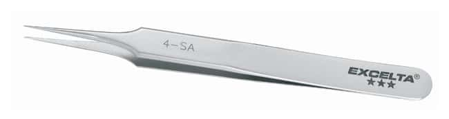 Excelta Electronic Style Tweezers with Tapered Tips with Very Fine Points:Spatulas,