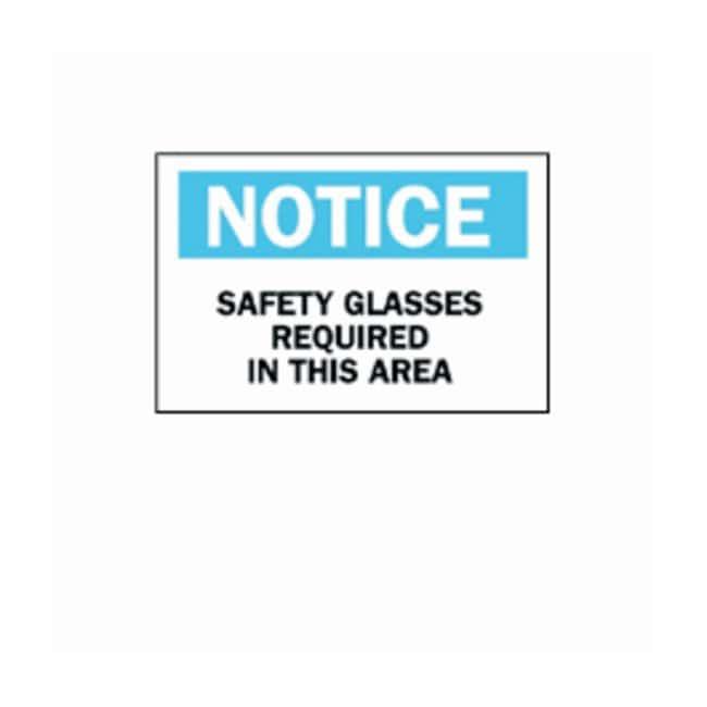 Brady™Eye Protection Signs