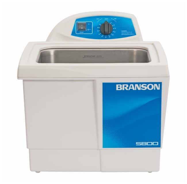 Branson Ultrasonics MH Series Heated Ultrasonic Cleaning Bath M5800H; 120V;