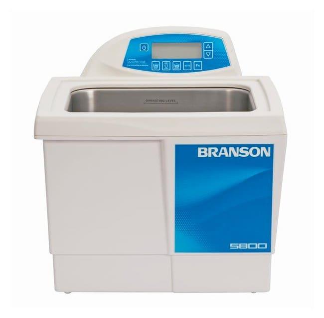 Branson Ultrasonics™CPXH Series Ultrasonic Cleaning Bath CPX5800H-E; 230/240V; Capacity: 9.5L; 39.7L x 40.1W x 37.8mm H Branson Ultrasonics™CPXH Series Ultrasonic Cleaning Bath