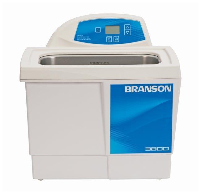 Branson Ultrasonics™Bain de nettoyage à ultrasons série CPX CPX3800-E; 230/240V; Capacité: 5,7L; 39,7x31,7x37,7cm (LxlxH) Branson Ultrasonics™Bain de nettoyage à ultrasons série CPX