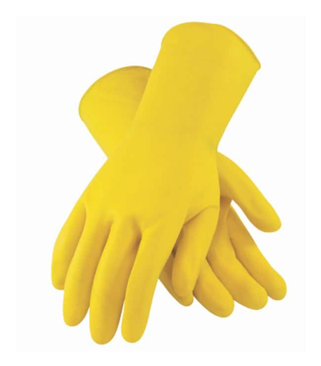 PIP Assurance Unsupported 18mil Latex Gloves, Unlined Medium:Gloves, Glasses