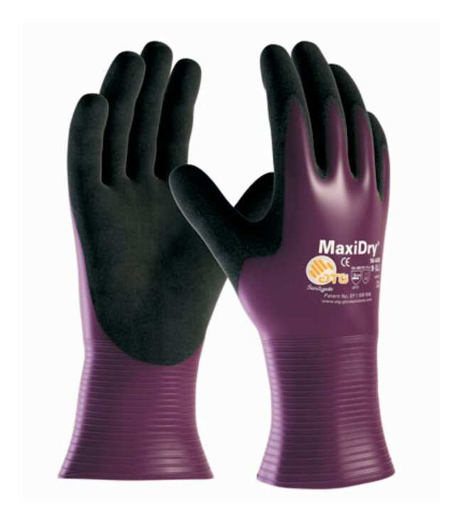 PIP ATG MaxiDry Drivers Style Hi-Performance Nitrile Gloves:Gloves, Glasses