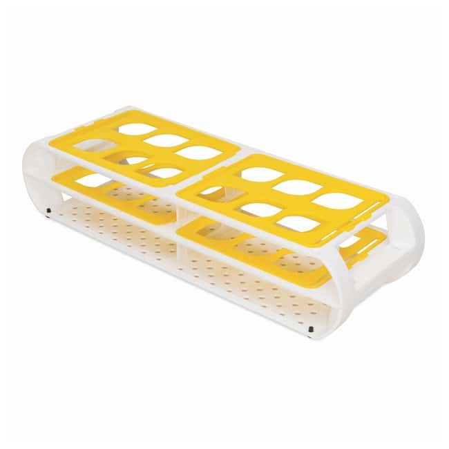 Bel-Art SP Scienceware Switch-Grid Test Tube Racks  Rack w/Yellow Grids;