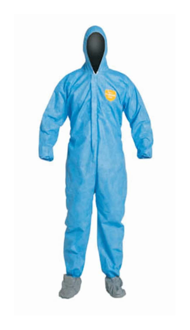 DuPont ProShield 10 Coveralls with Attached Hood and Skid-Resistant Boots:Gloves,