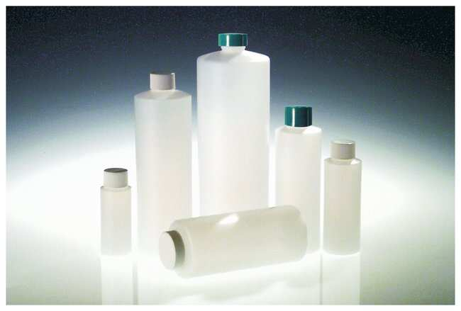 Qorpak&trade;&nbsp;Natural HDPE Commercial Cylinder Bottles Without Caps&nbsp;<img src=
