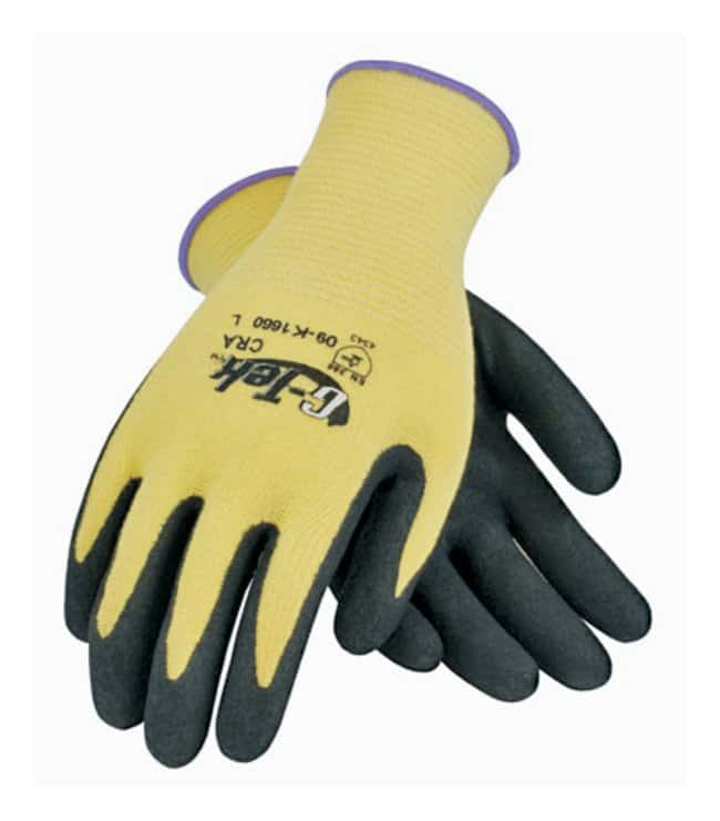 PIP Nitrile-Coated Gloves with Aramid Fiber Large; 13 gauge; Elastic knit