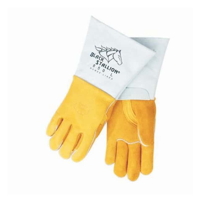 Black Stallion Premium Grain Elkskin Stick Welding Gloves:Gloves, Glasses