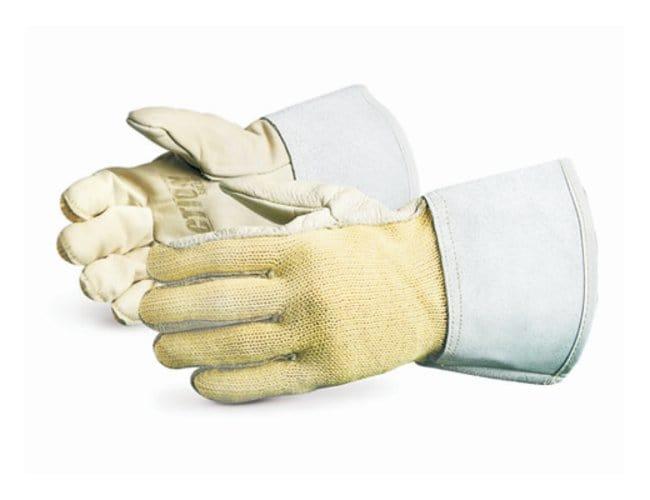 Superior Glove Action Aramid Fiber Knit Leather Gloves:Gloves, Glasses