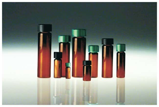 Qorpak Amber Borosilicate Sample Vials: Without Caps :Test Tubes, Vials,